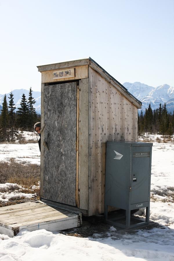 Le dernier bureau de poste canadien avant la frontière !
