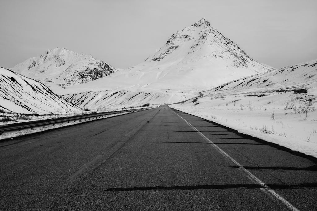 Route de Haines pass.. Coup de coeur de Davody