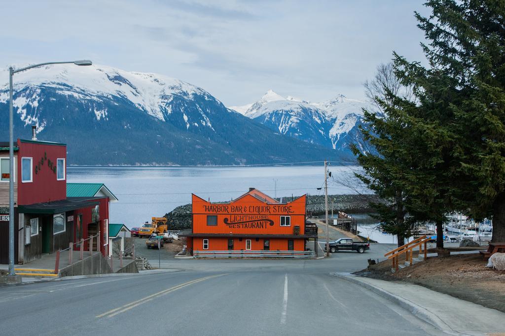 Haines, Alaska.. Plus loin tu tombes à la flotte