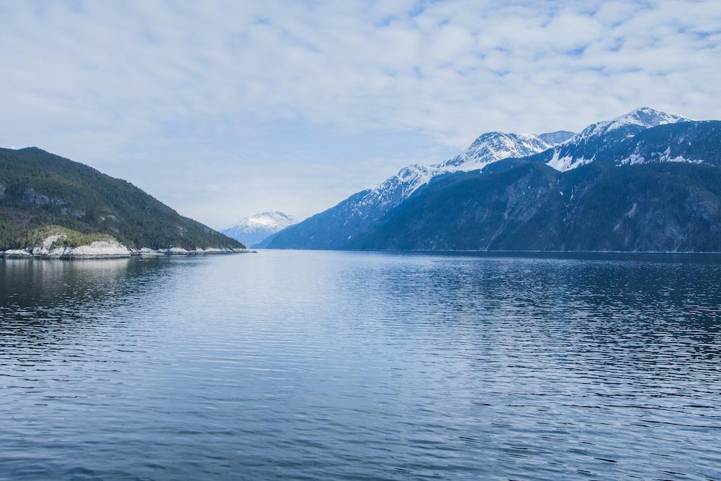 Fjords entre Haines et Skagway