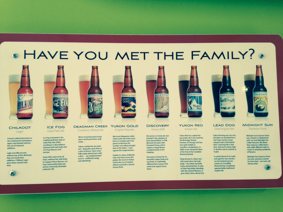 La Yukon brewery