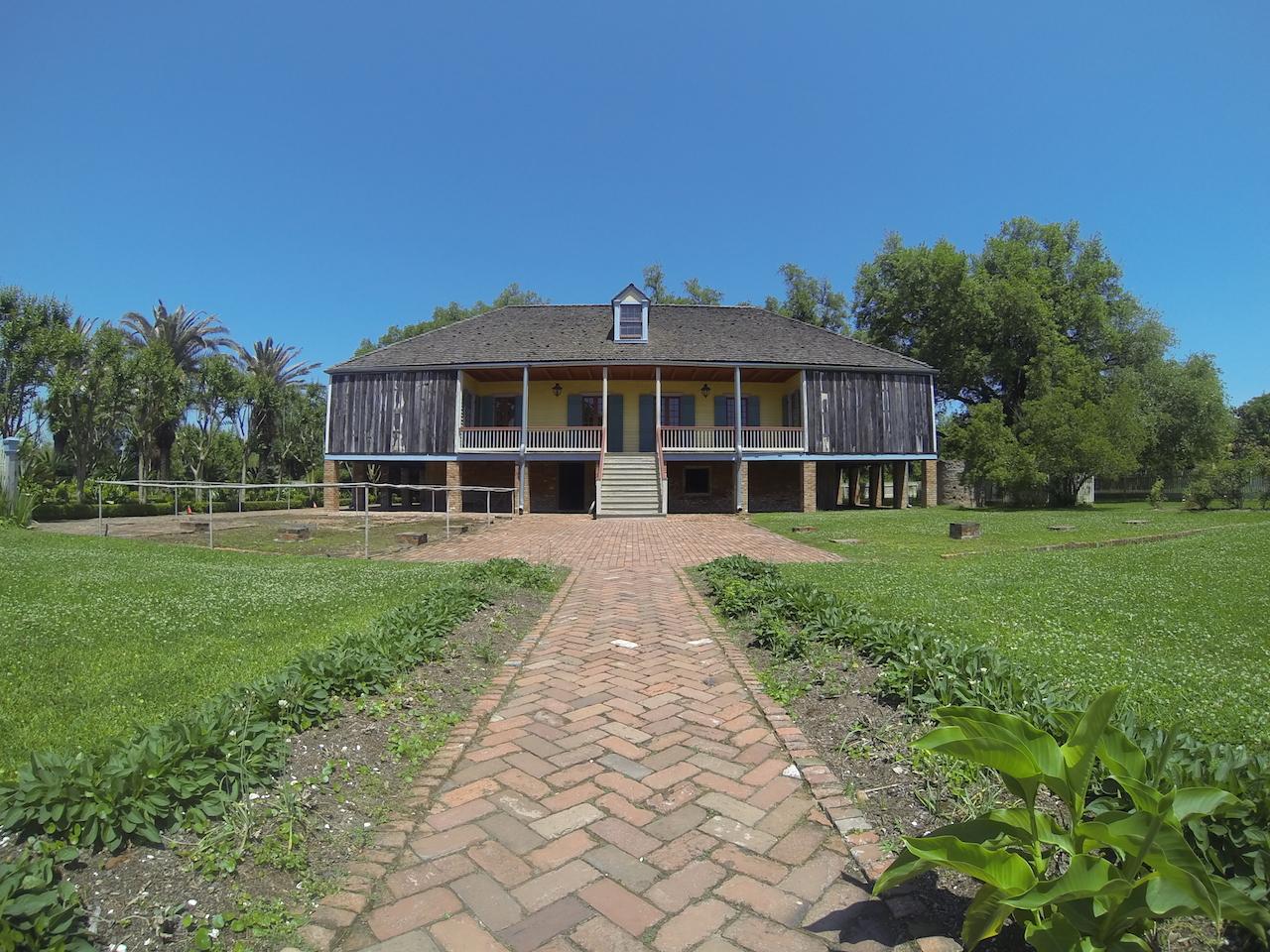 Laura's plantation.