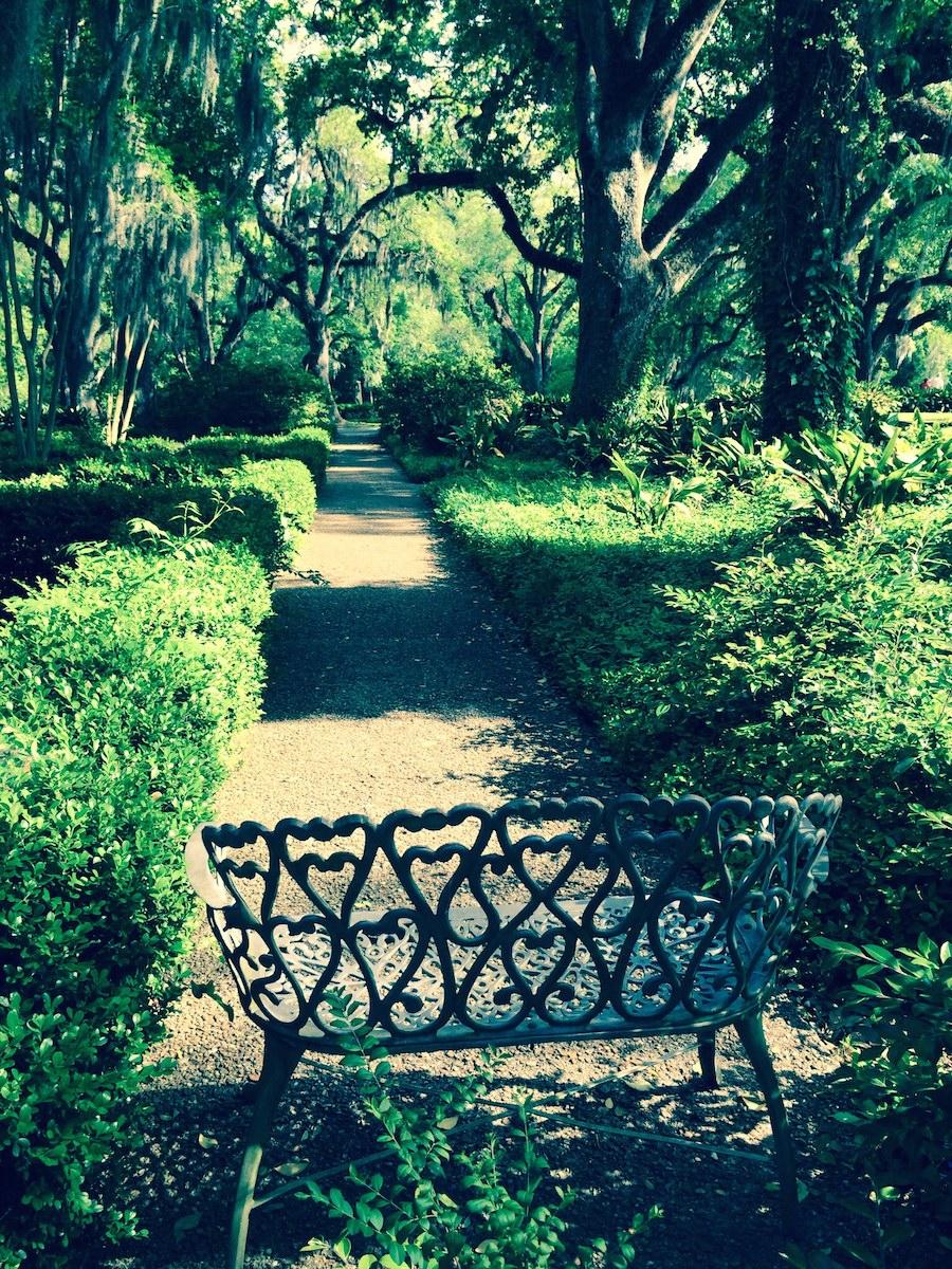 """Jardin de """"Myrtles plantation"""""""