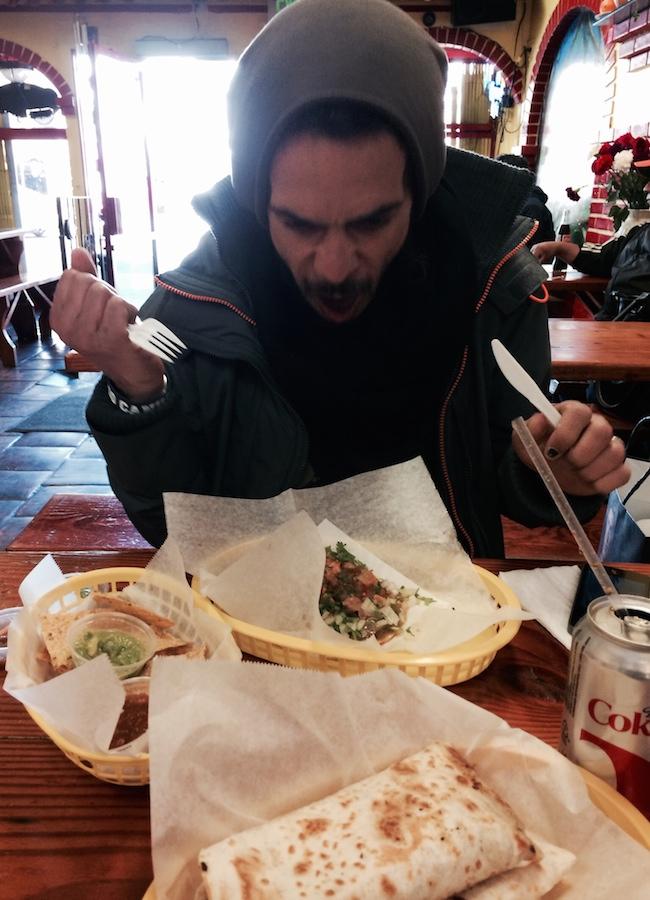 Tacqueria Cancun et ses excellents burritos !