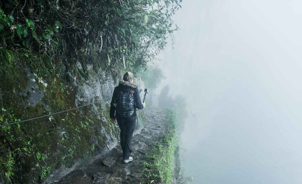 Macchu Picchu, sur le chemin du pont de l'Inca.