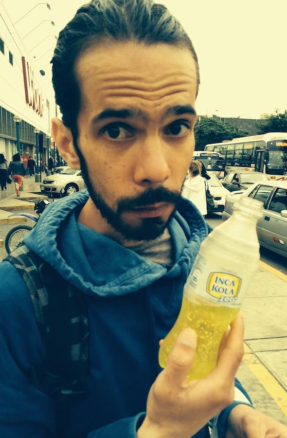 L'inca Kola : la boisson locale (Coca version médicament...)