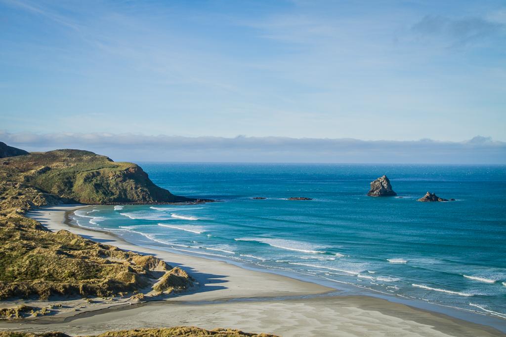 Plage de la péninsule d'Otago (Dunedin)