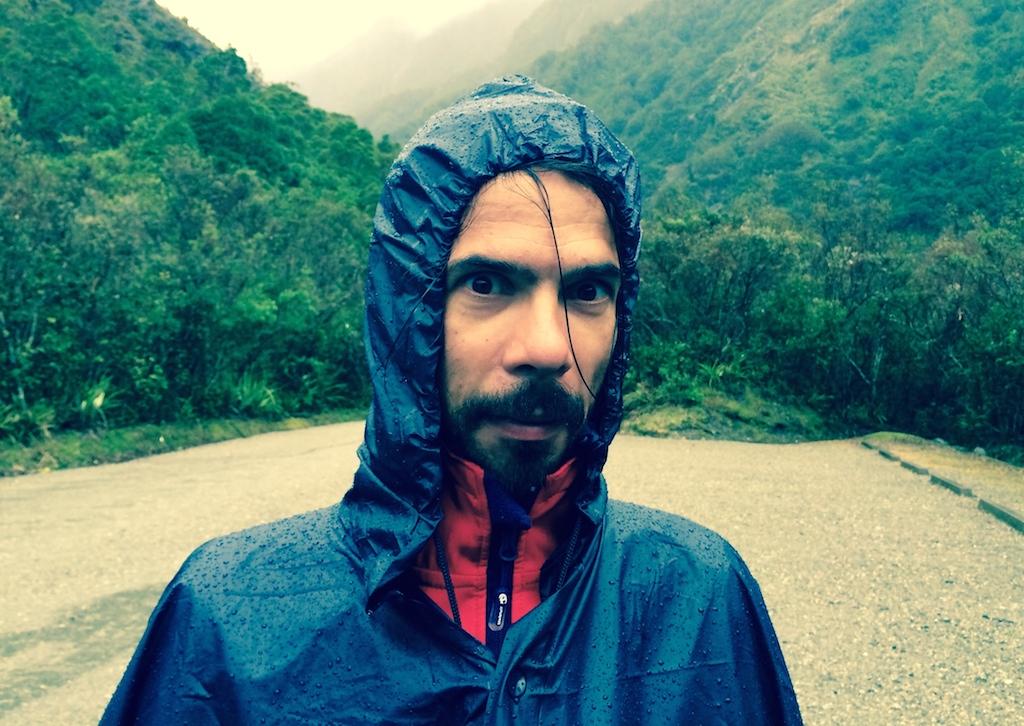 Dav, courageux, part marcher sous la pluie mais moi c'était niet ce jour-là ;)