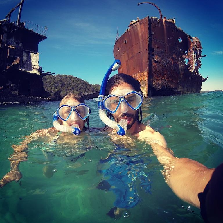 Snorkeling à Moreton Bay