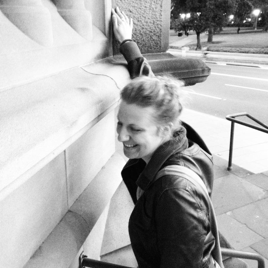 A celui qui le demande, je lui raconterai la raison de ce fou rire ;) (Sydney)