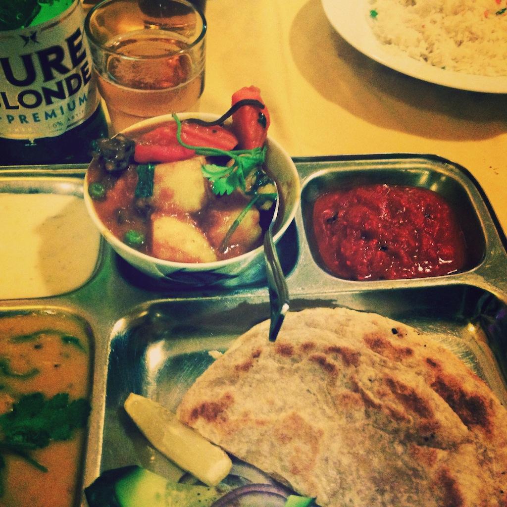 Dernier repas à Brisbane, voyage culinaire au Népal