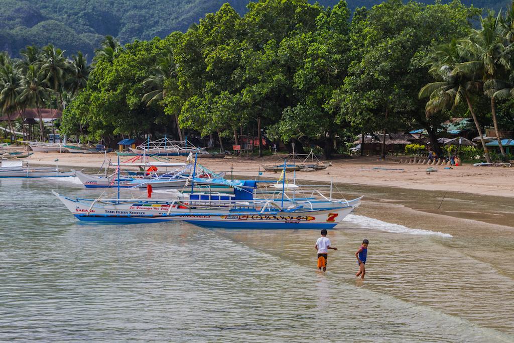 Accostage des bateaux de touristes à Sabang
