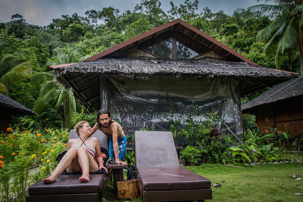 """On profite des quelques heures de soleil entre 2 pluies au """"Secret Paradise Resort"""""""